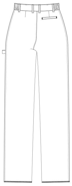 UQM2001 バックスタイルイラスト