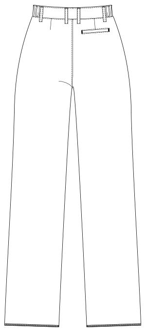 UQM2104 バックスタイルイラスト