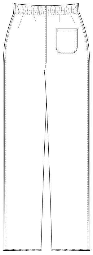 UQM2105 バックスタイルイラスト