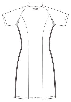 UQW0014 バックスタイルイラスト