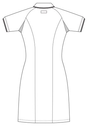 UQW0018 バックスタイルイラスト
