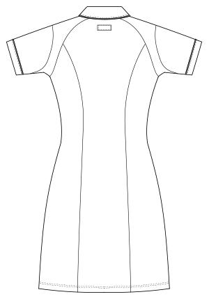 UQW0028 バックスタイルイラスト