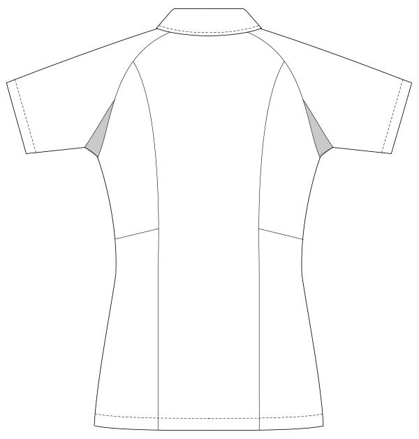 UQW1012 バックスタイルイラスト