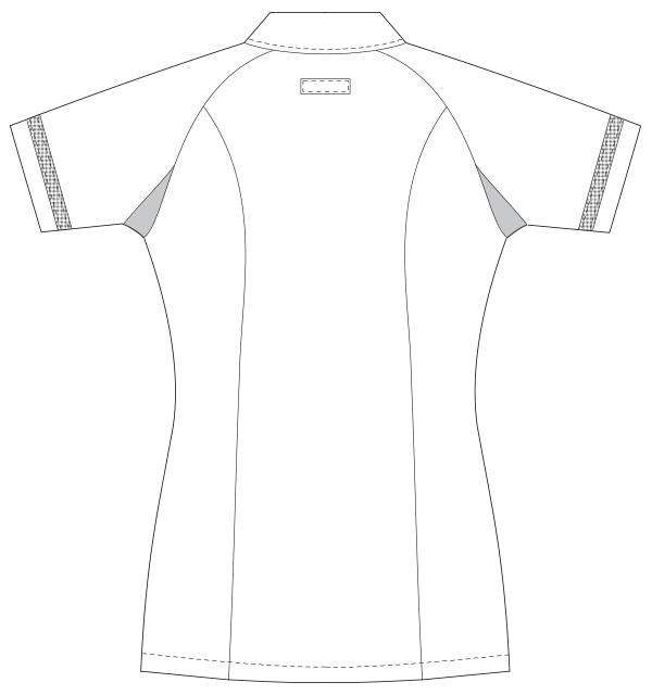 UQW1014 バックスタイルイラスト