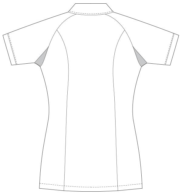 UQW1023 バックスタイルイラスト