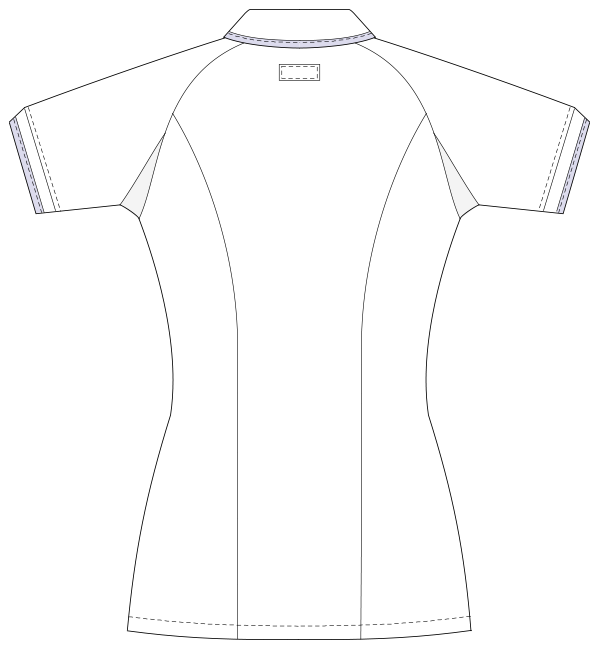 UQW1025 バックスタイルイラスト