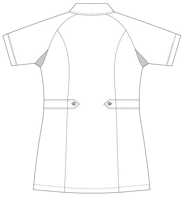 UQW1026 バックスタイルイラスト