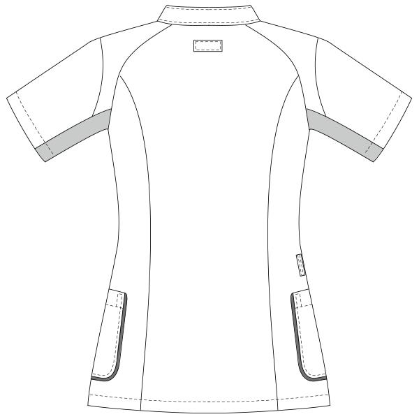 UQW1044 バックスタイルイラスト