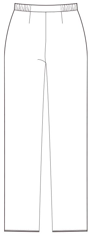UQW2037V バックスタイルイラスト