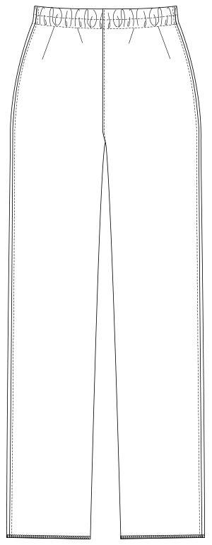 UQW2038 バックスタイルイラスト