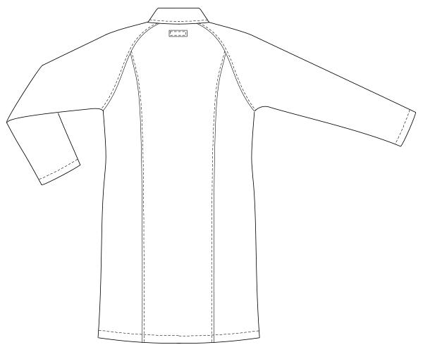 UQW4101 バックスタイルイラスト