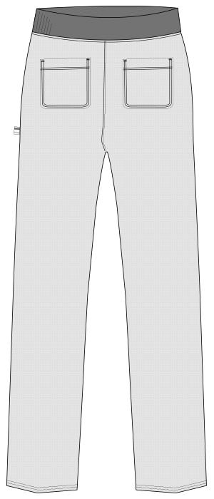 UZL2071 バックスタイルイラスト