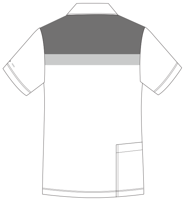 UZL3071 バックスタイルイラスト