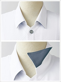 襟付きデザイン