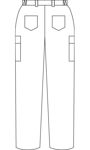 72-881 バックスタイルイラスト