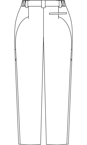 CHM151 バックスタイルイラスト