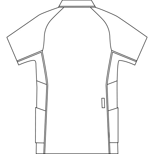 CHM856 バックスタイルイラスト