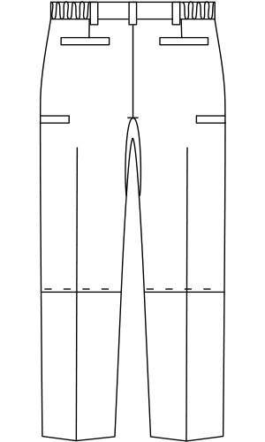 FPB7411 バックスタイルイラスト