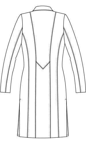 JK111 バックスタイルイラスト