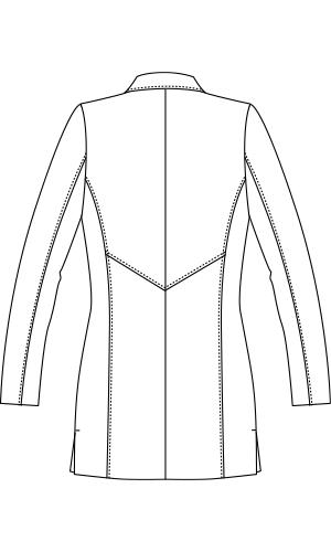 JK112 バックスタイルイラスト