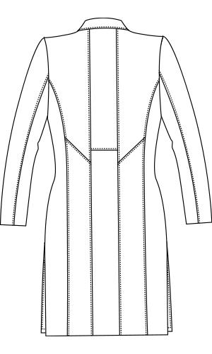 JK113 バックスタイルイラスト