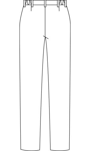 JU701 バックスタイルイラスト