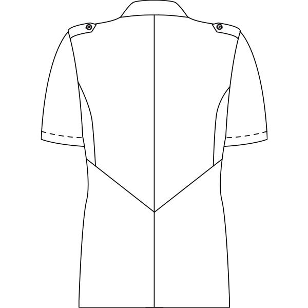 JU851 バックスタイルイラスト