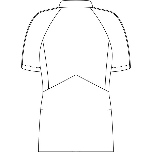 JU853 バックスタイルイラスト