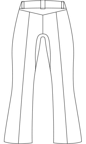 LKM101 バックスタイルイラスト