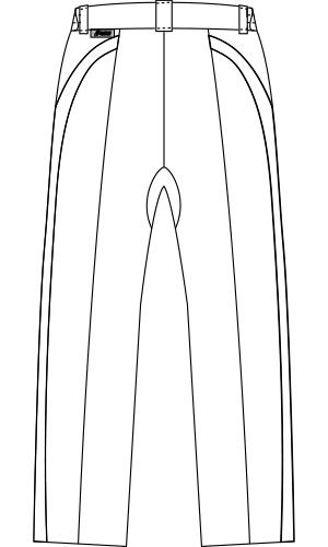 LKM601 バックスタイルイラスト