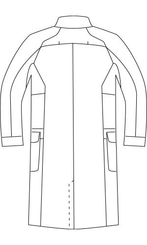 LKM701 バックスタイルイラスト