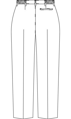 LU651 バックスタイルイラスト