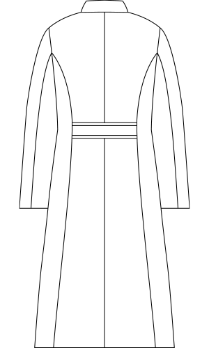 LW102 バックスタイルイラスト