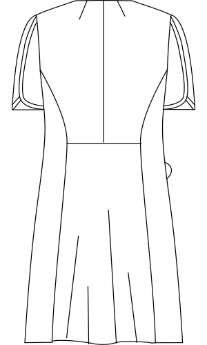 LW402 バックスタイルイラスト