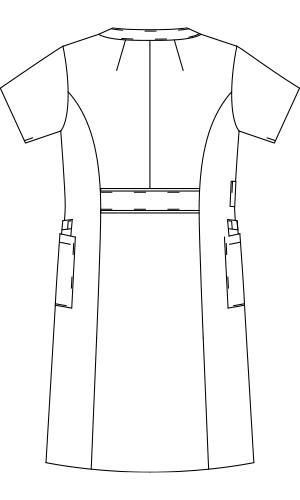 LW411 バックスタイルイラスト