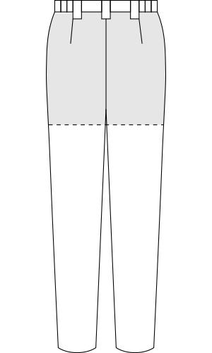 LW701 バックスタイルイラスト