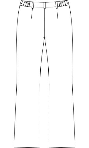 MC8525 バックスタイルイラスト