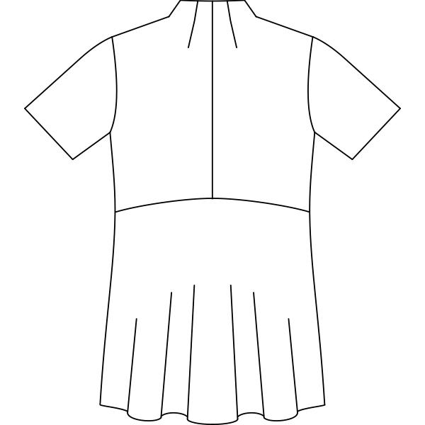 PP301 バックスタイルイラスト
