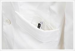 両腰ポケット(内ポケット付き)