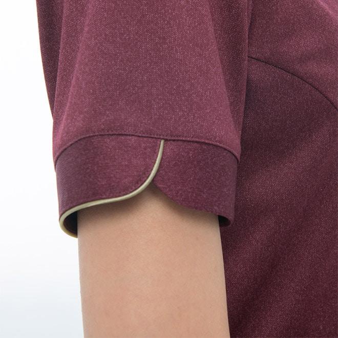 美しい袖のデザイン。