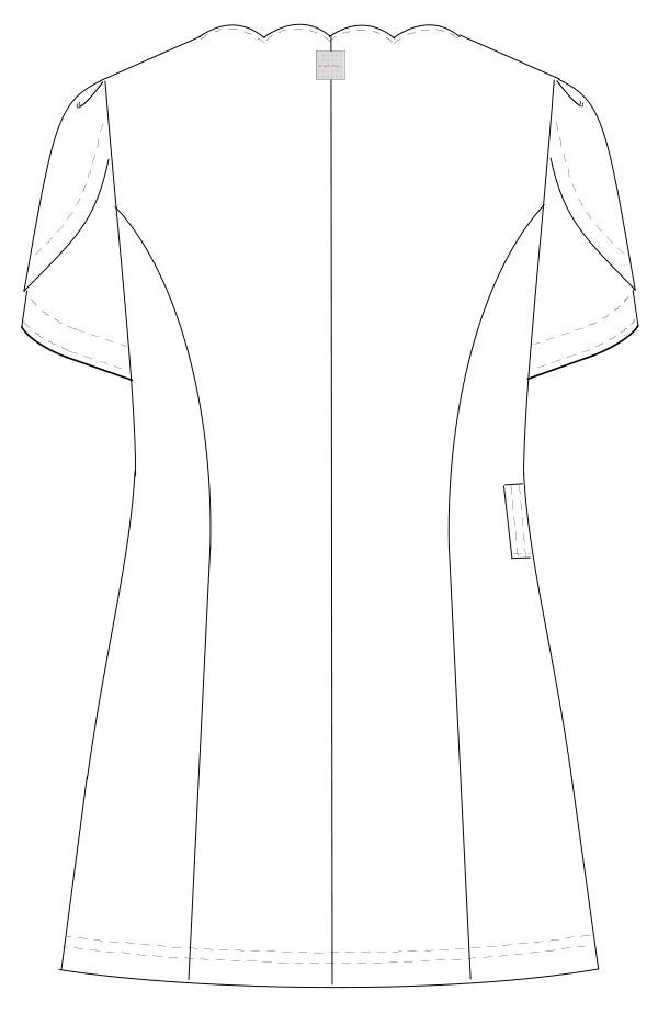 BD-6102 バックスタイルイラスト