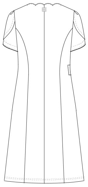 BD-6107 バックスタイルイラスト
