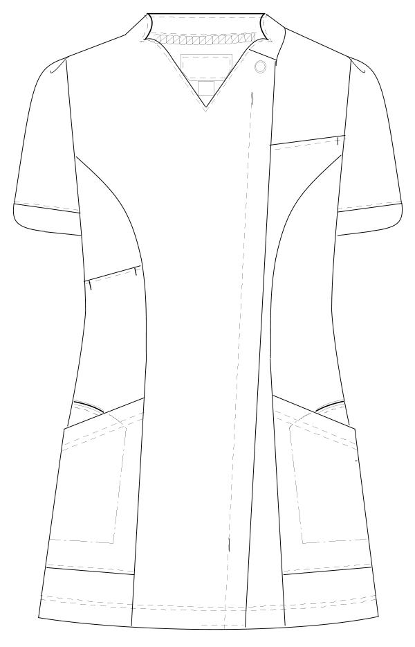 BD-6122 フロントスタイルイラスト