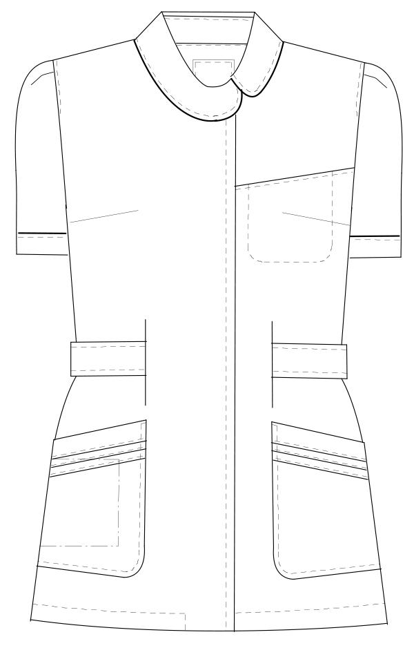 CA-1702 フロントスタイルイラスト