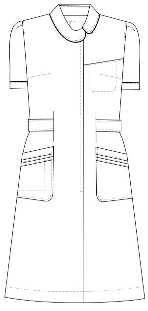CA-1707 フロントスタイルイラスト