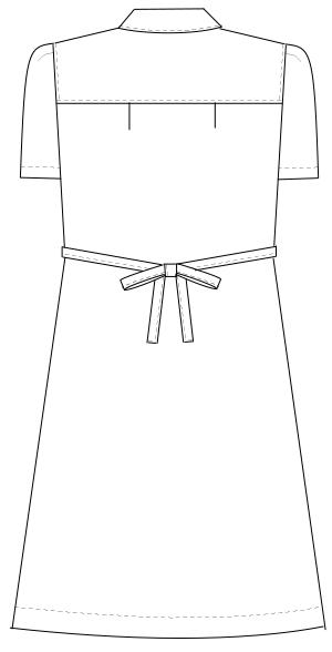 CA-1782 バックスタイルイラスト