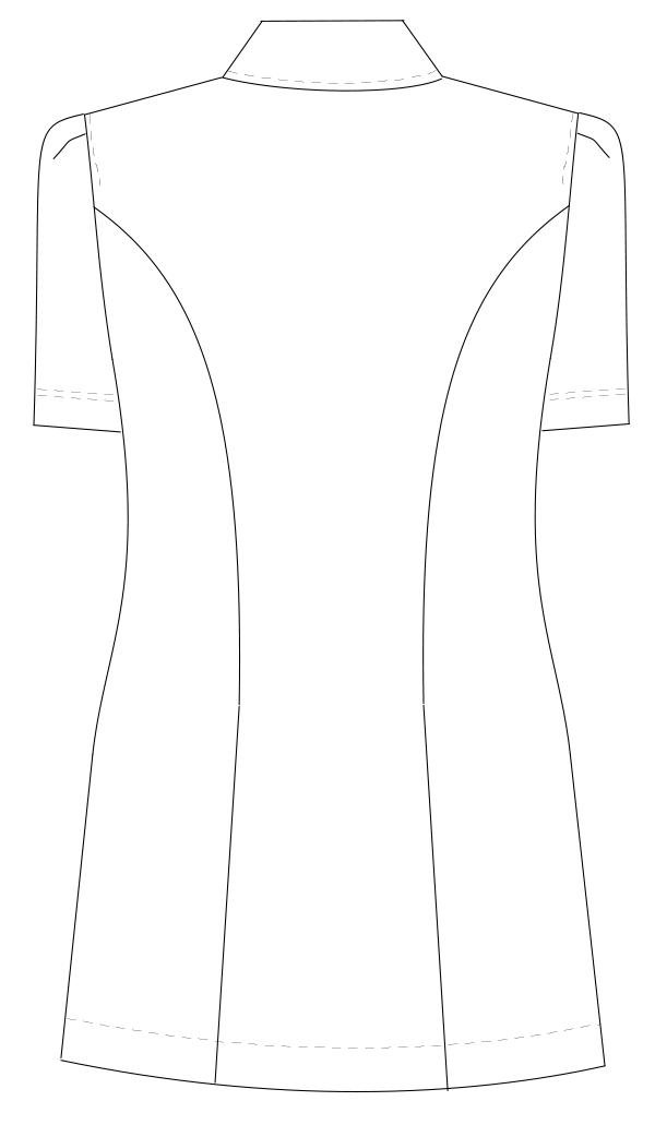 CA-1792 バックスタイルイラスト