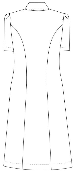 CA-1797 バックスタイルイラスト