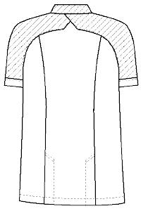 CA-2442 バックスタイルイラスト