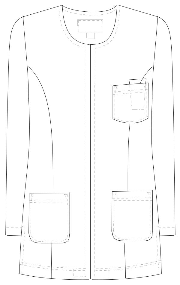 CD-2820 フロントスタイルイラスト